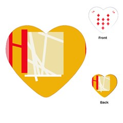 Basketball Playing Cards (Heart)