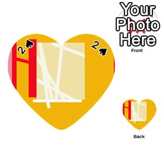 Basketball Playing Cards 54 (Heart)