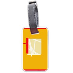 Basketball Luggage Tags (Two Sides)