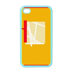 Basketball Apple iPhone 4 Case (Color)