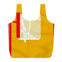 Basketball Full Print Recycle Bags (L)