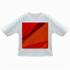 Red and orange decorative abstraction Infant/Toddler T-Shirts