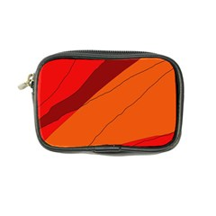 Red and orange decorative abstraction Coin Purse