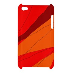 Red and orange decorative abstraction Apple iPod Touch 4