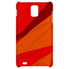 Red and orange decorative abstraction Samsung Infuse 4G Hardshell Case