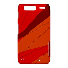 Red and orange decorative abstraction Motorola Droid Razr XT912