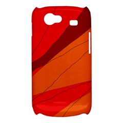 Red and orange decorative abstraction Samsung Galaxy Nexus S i9020 Hardshell Case