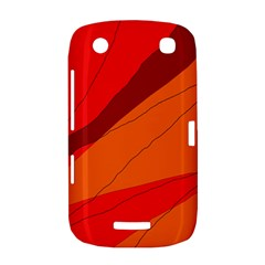 Red and orange decorative abstraction BlackBerry Curve 9380