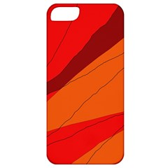 Red and orange decorative abstraction Apple iPhone 5 Classic Hardshell Case