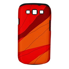 Red and orange decorative abstraction Samsung Galaxy S III Classic Hardshell Case (PC+Silicone)