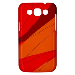 Red and orange decorative abstraction Samsung Galaxy Win I8550 Hardshell Case