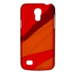 Red and orange decorative abstraction Galaxy S4 Mini