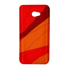 Red and orange decorative abstraction HTC Butterfly S/HTC 9060 Hardshell Case