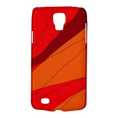 Red and orange decorative abstraction Galaxy S4 Active