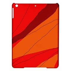 Red and orange decorative abstraction iPad Air Hardshell Cases