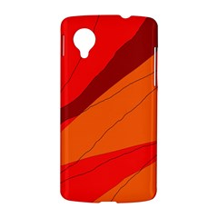 Red and orange decorative abstraction LG Nexus 5