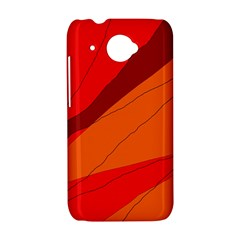 Red and orange decorative abstraction HTC Desire 601 Hardshell Case