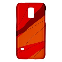 Red and orange decorative abstraction Galaxy S5 Mini