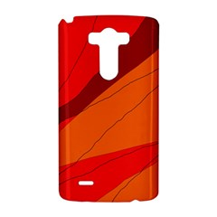 Red and orange decorative abstraction LG G3 Hardshell Case