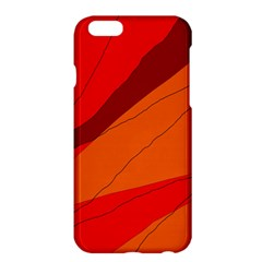 Red and orange decorative abstraction Apple iPhone 6 Plus/6S Plus Hardshell Case