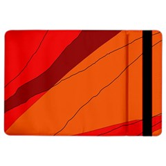Red and orange decorative abstraction iPad Air 2 Flip