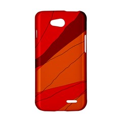 Red and orange decorative abstraction LG L90 D410