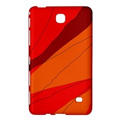Red and orange decorative abstraction Samsung Galaxy Tab 4 (8 ) Hardshell Case