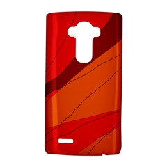 Red And Orange Decorative Abstraction Lg G4 Hardshell Case