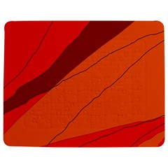 Red and orange decorative abstraction Jigsaw Puzzle Photo Stand (Rectangular)