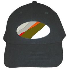 Decorative abstraction Black Cap