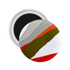 Decorative abstraction 2.25  Magnets