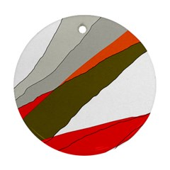 Decorative abstraction Ornament (Round)