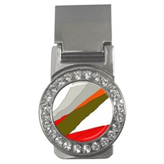 Decorative abstraction Money Clips (CZ)