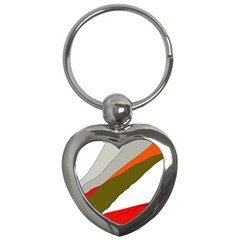 Decorative abstraction Key Chains (Heart)