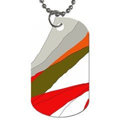 Decorative abstraction Dog Tag (One Side)