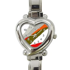 Decorative abstraction Heart Italian Charm Watch