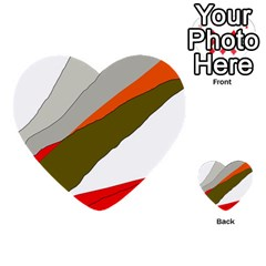 Decorative abstraction Multi-purpose Cards (Heart)
