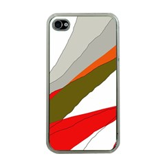 Decorative abstraction Apple iPhone 4 Case (Clear)