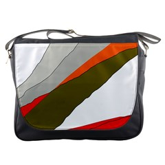 Decorative abstraction Messenger Bags