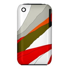 Decorative abstraction Apple iPhone 3G/3GS Hardshell Case (PC+Silicone)