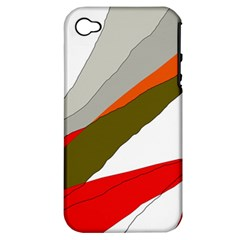 Decorative abstraction Apple iPhone 4/4S Hardshell Case (PC+Silicone)