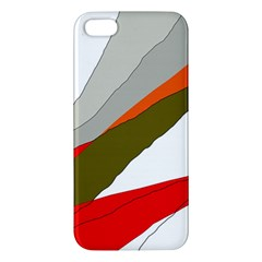 Decorative abstraction Apple iPhone 5 Premium Hardshell Case