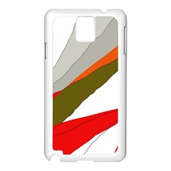 Decorative abstraction Samsung Galaxy Note 3 N9005 Case (White)
