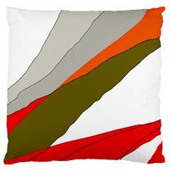 Decorative abstraction Standard Flano Cushion Case (Two Sides)