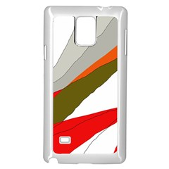 Decorative abstraction Samsung Galaxy Note 4 Case (White)