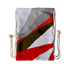 Decorative abstraction Drawstring Bag (Small)