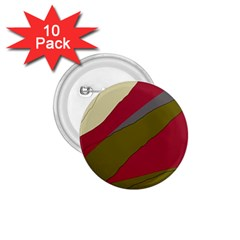 Decoratve abstraction 1.75  Buttons (10 pack)
