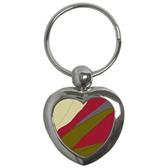 Decoratve abstraction Key Chains (Heart)