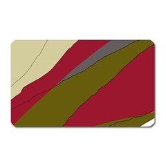Decoratve abstraction Magnet (Rectangular)