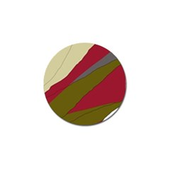 Decoratve abstraction Golf Ball Marker (4 pack)